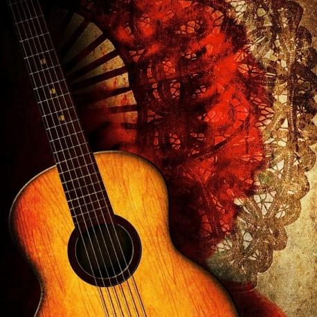 Spanish Malagueña Guitar