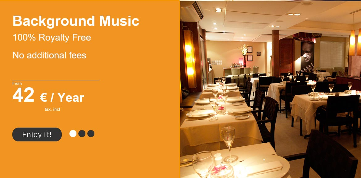 royalty free background music for restaurants